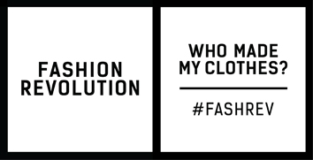 Fashion Revolution Day #FashRev #whomademyclothes - Myphilosophy
