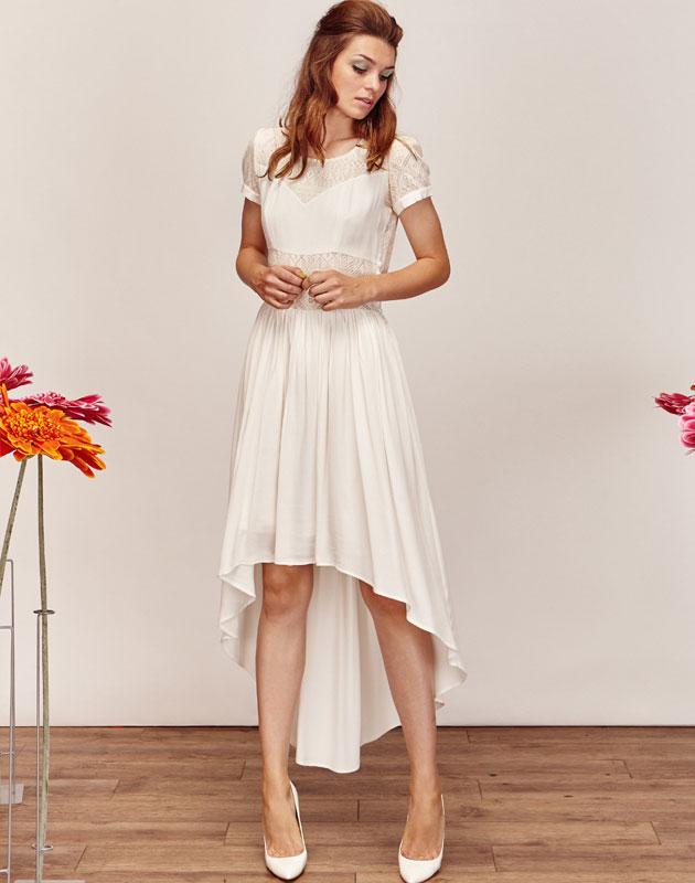 Robe de soiree boheme blanche