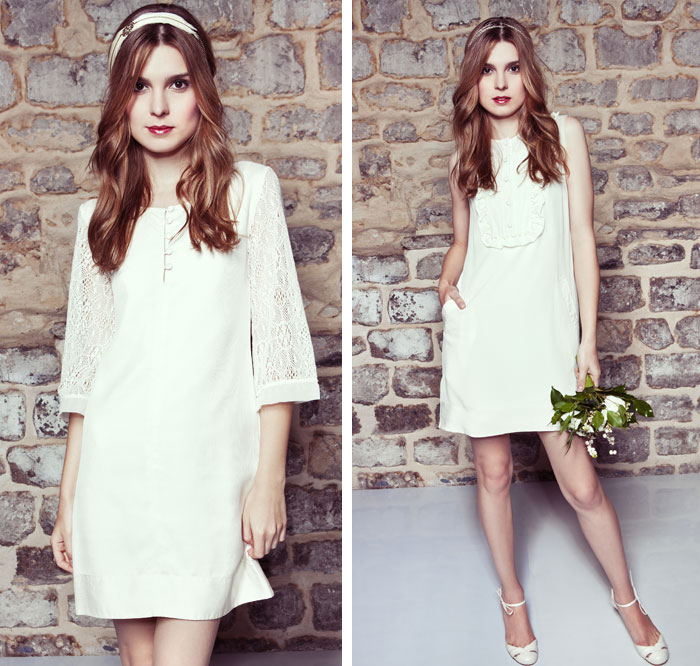 Myphilosophy - Collection robe de mariage civil simple créateur