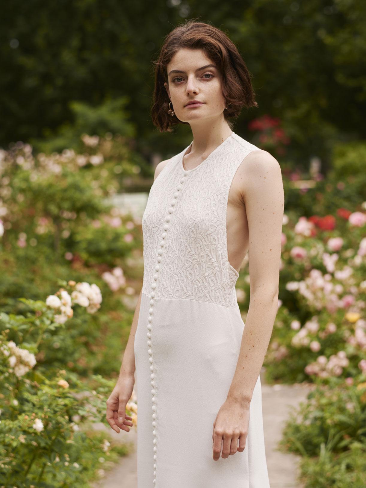 Créatrice de robe de mariée romantique sur-mesure recyclee - Myphilo