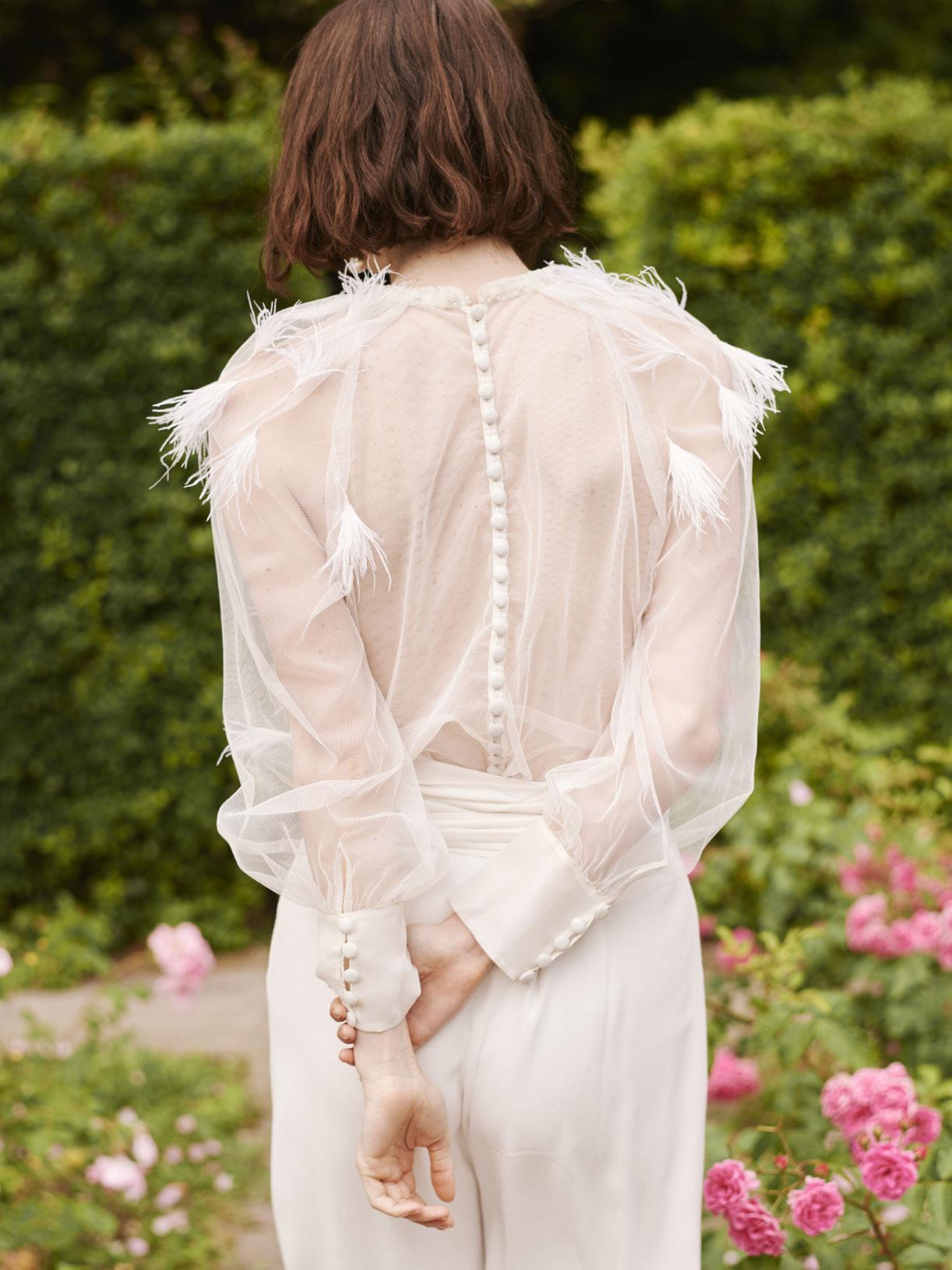 Créatrice de robe de mariée romantique sur-mesure écoresponsable - Myphilo