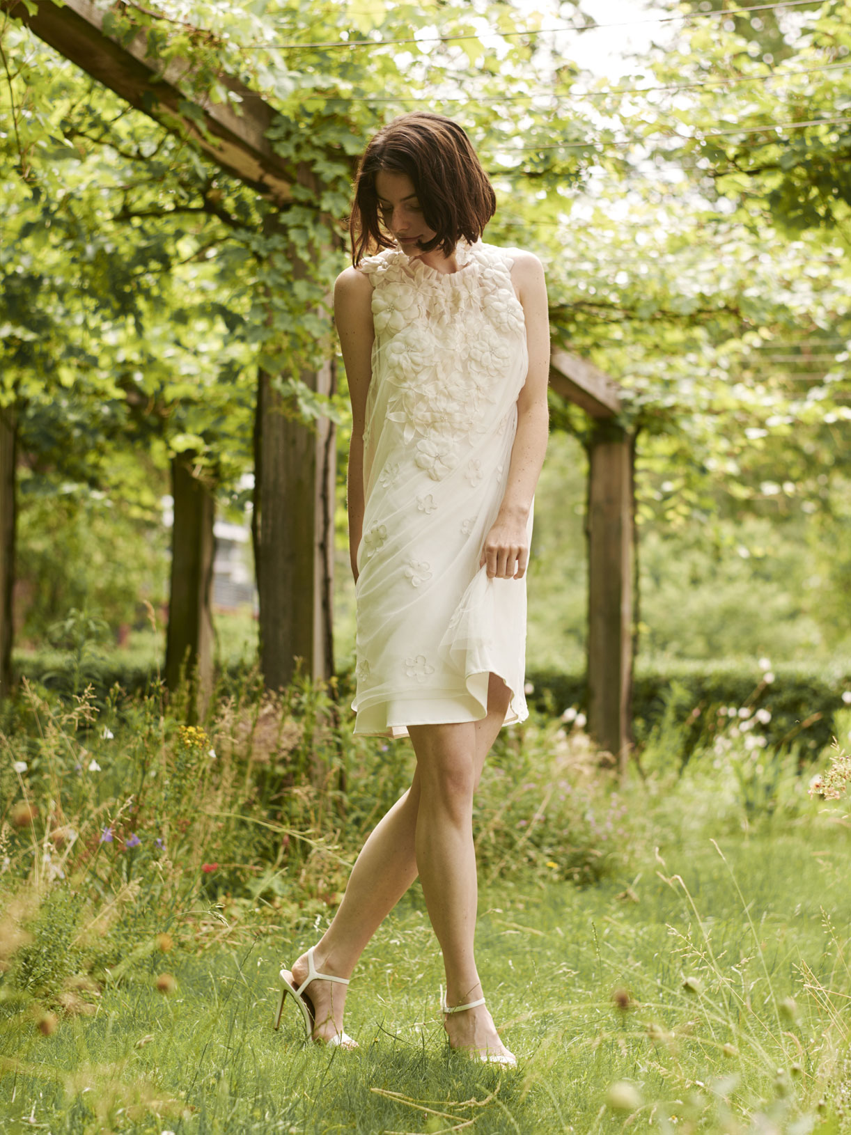 Sybille - Robe de mariée courte