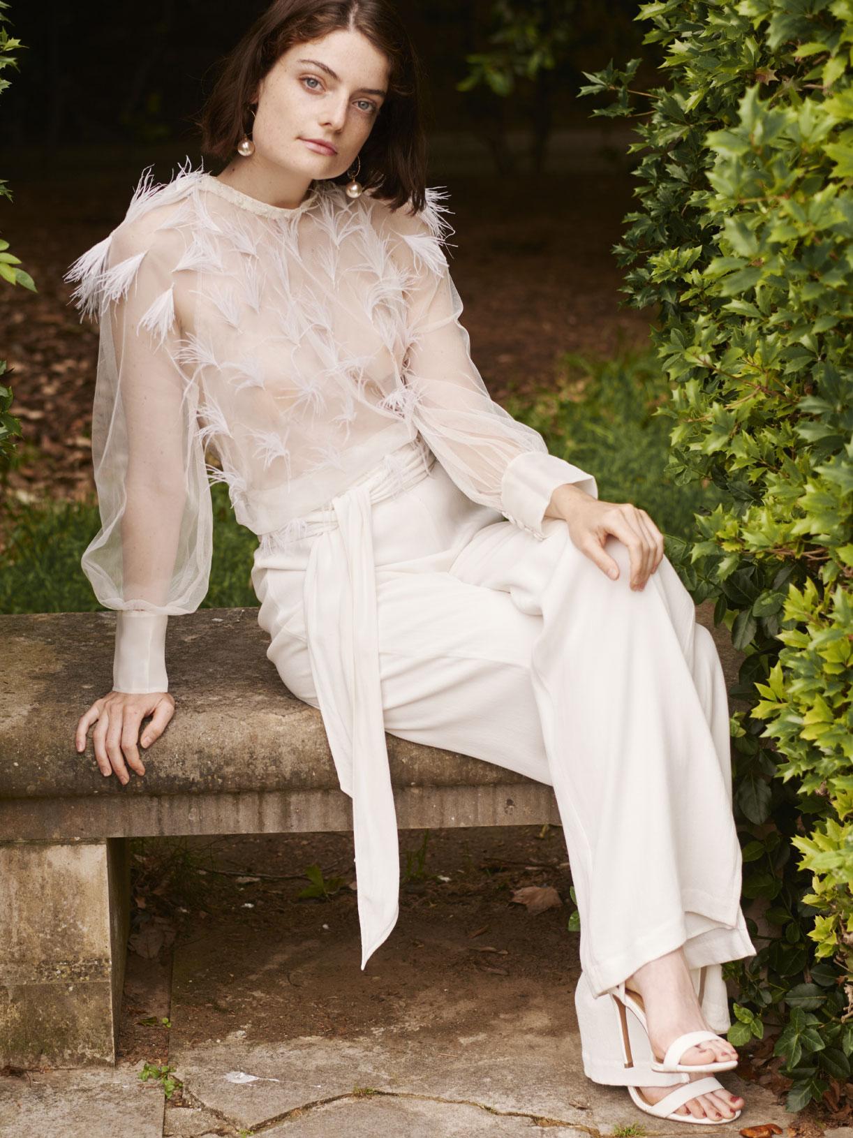 Amour - Pantalon de mariée
