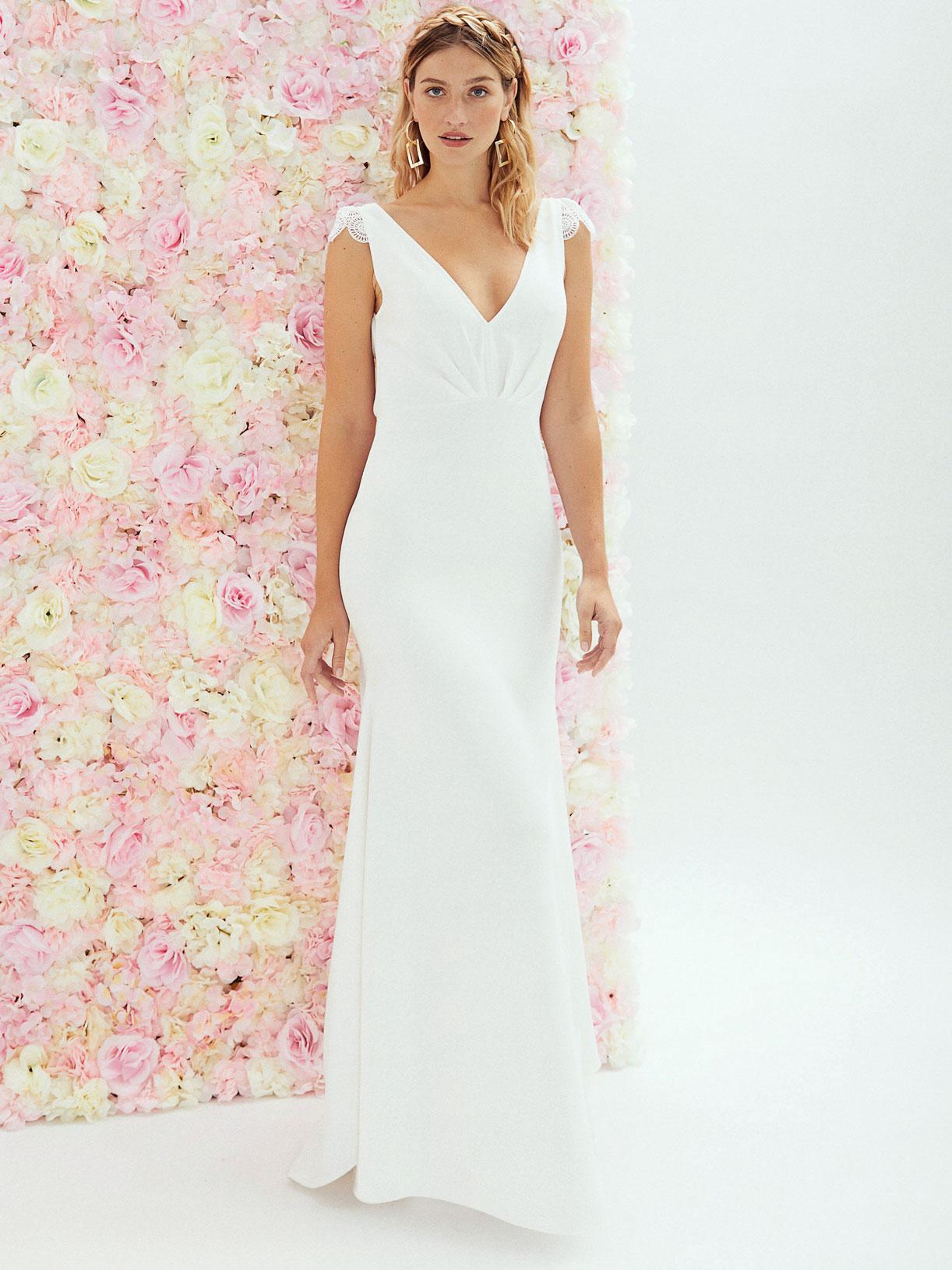 Robe de mariée dos nu princesse ecoresponsable sur mesure  - Creatrice de robe de mariée éthique et écoresponsable a Paris - Myphilosophy