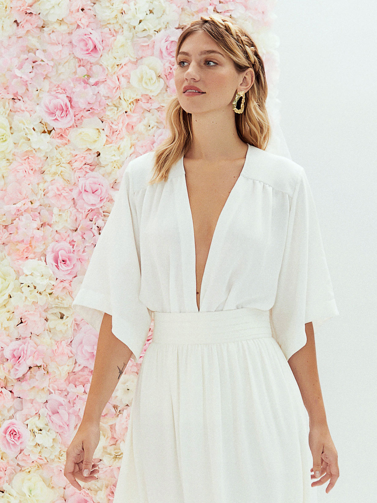 Kimono de mariee ecoresponsable - Creatrice de robe de mariée éthique et écoresponsable a Paris - Myphilosophy