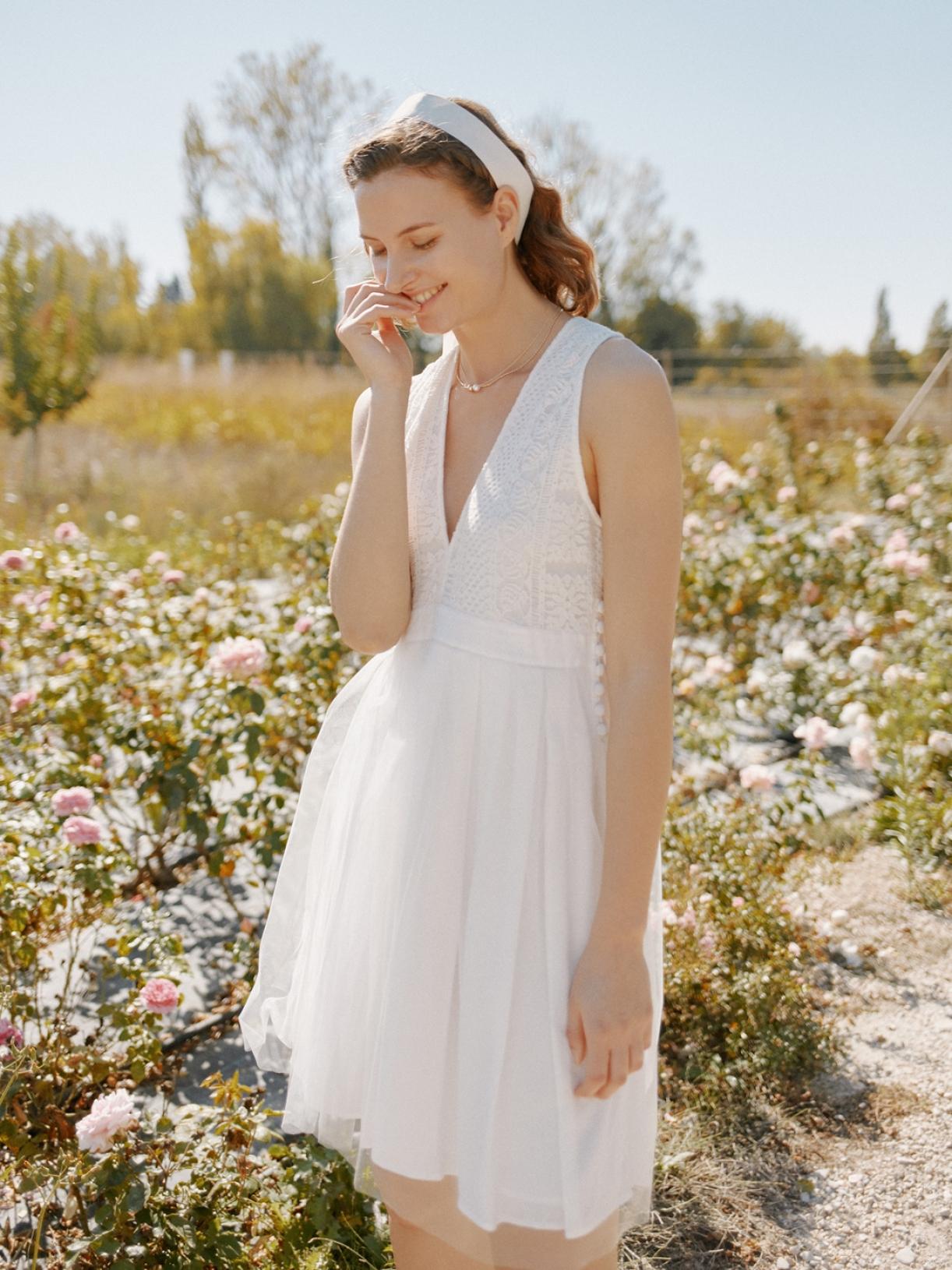 CLEA - Robe de mariée courte tutu ballerine - Robe de mariée créateur et sur-mesure pas cher a Paris - Myphilosophy