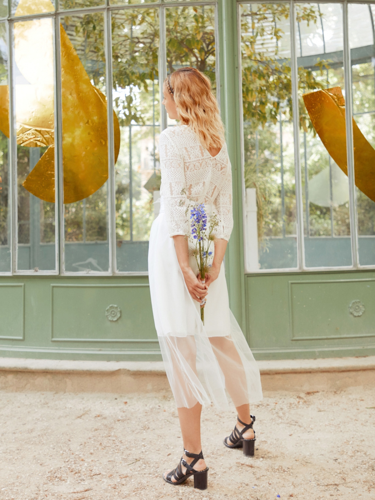 HORTENSE -  Jupe de mariée transparent en tulle et soie - Robe de mariée créateur et sur-mesure pas cher a Paris - Myphilosophy