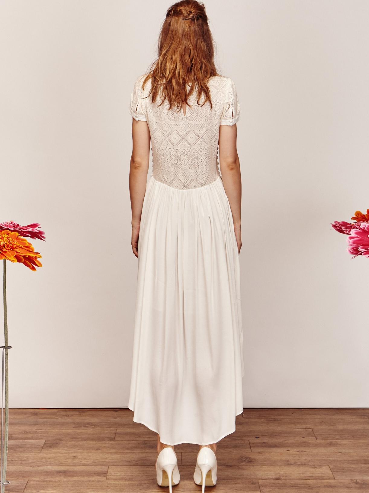 ANJA - Robe de mariée asymétrique créateur et sur-mesure pas cher a Paris - Myphilosophy