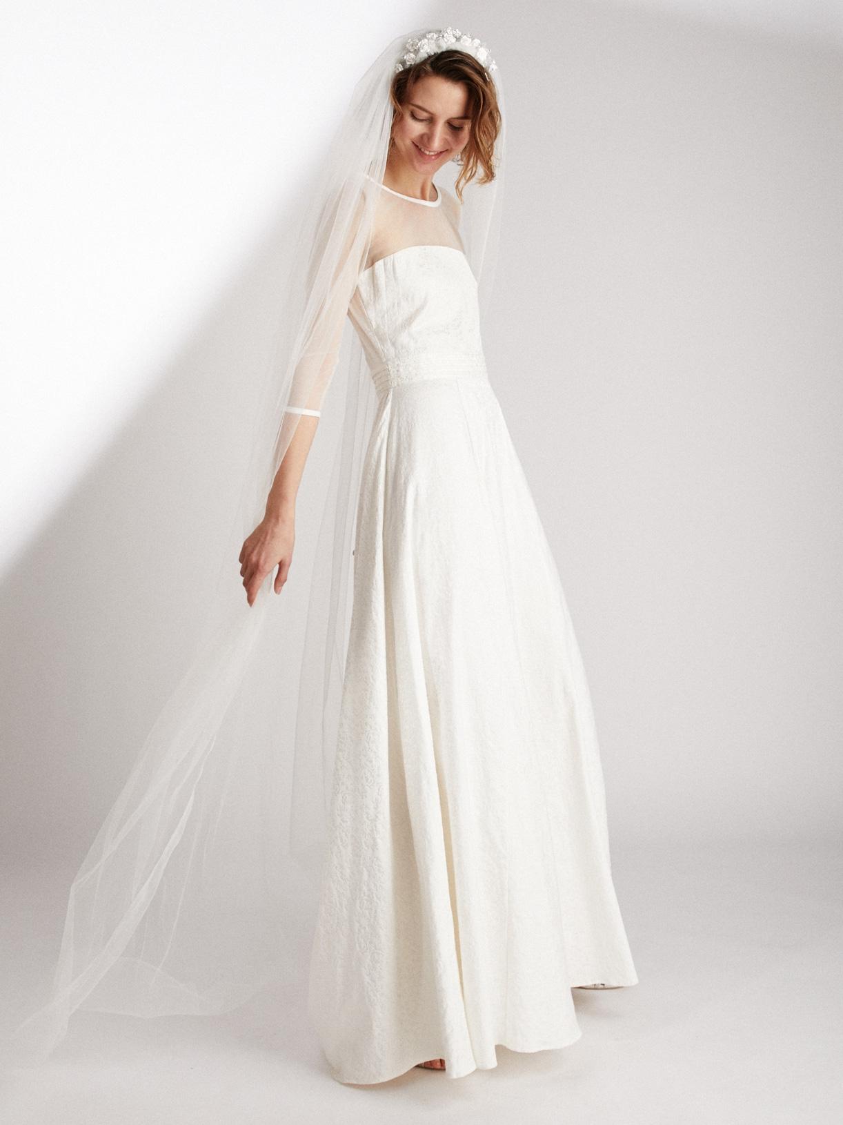 EDEN - Robe de mariée longue et romantique a manches longues ethique et sur-mesure - Myphilosophy