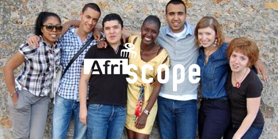 Rokhaya Diallo fait la couverture d'Afriscope en Myphilosophy
