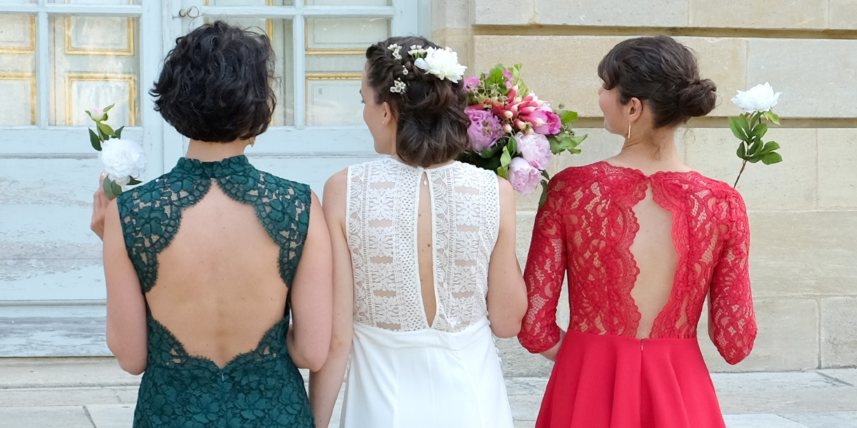 La robe de mariée Clea de Louisiane