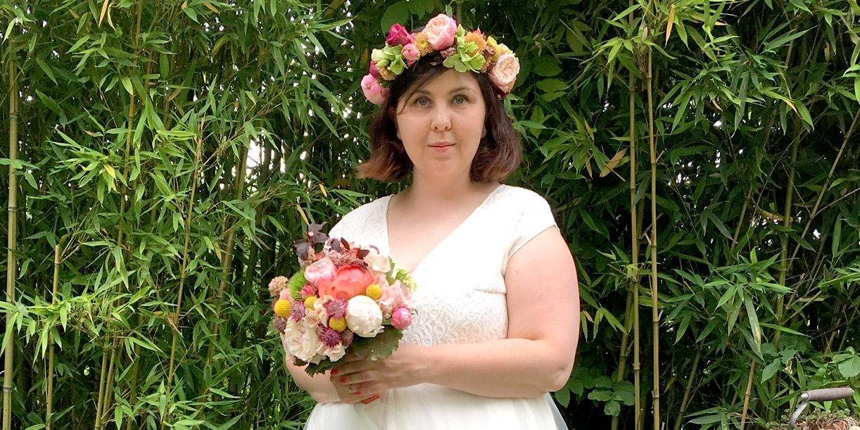 La robe de mariée Lise d'Alessia