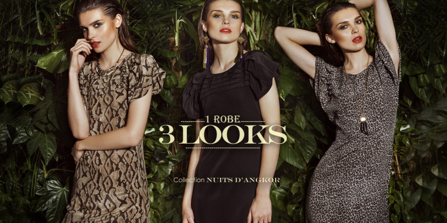 1 robe, 3 looks de séductrice !