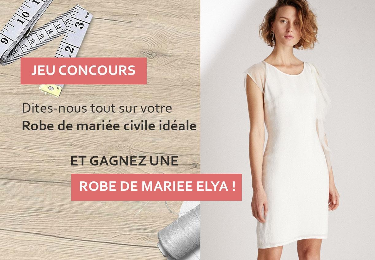 Jeu concours : Votre robe de mariée civile idéale !